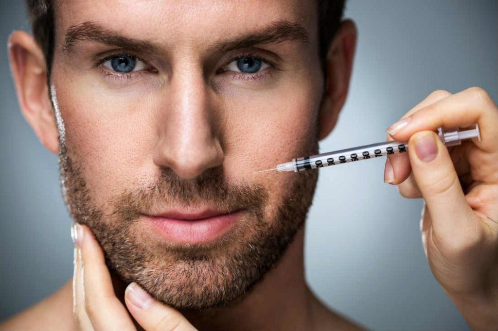 Косметолог для чоловіків та підлітків